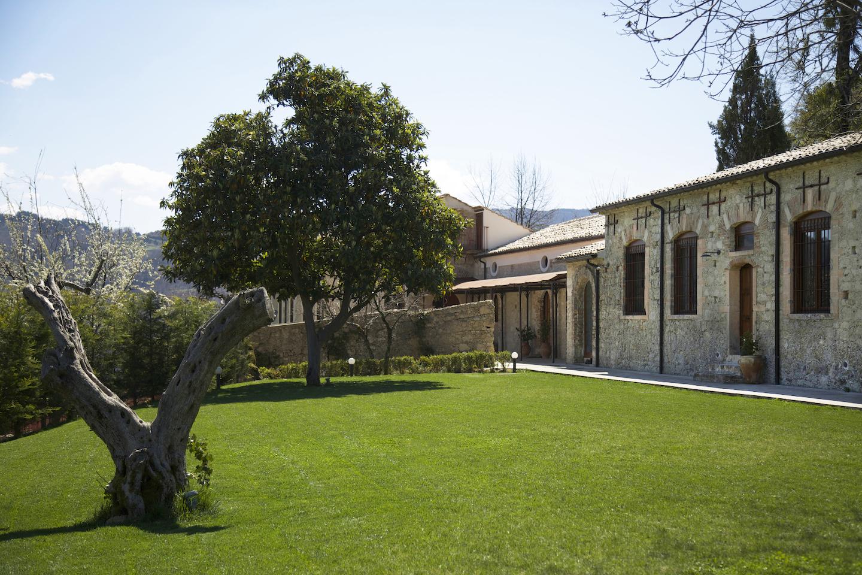 La Filanda dei Quintieri - Il giardino della filanda