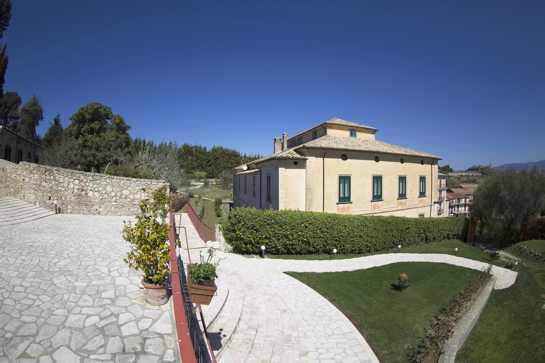 La Filanda dei Quintieri - La terrazza, i giardini pensili e la residenza dei Quintieri