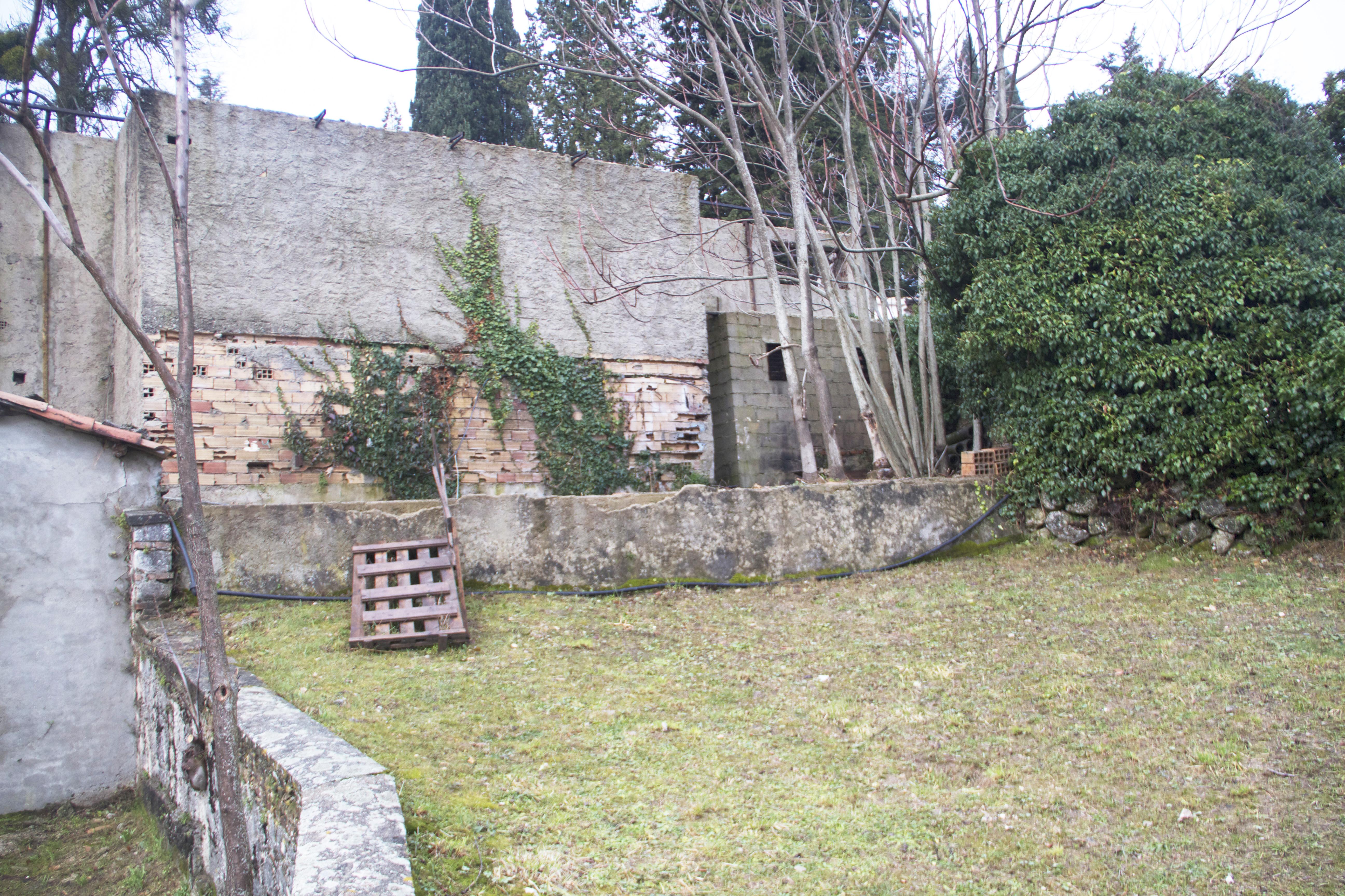 La Filanda dei Quintieri - Le terrazze prima del restauro