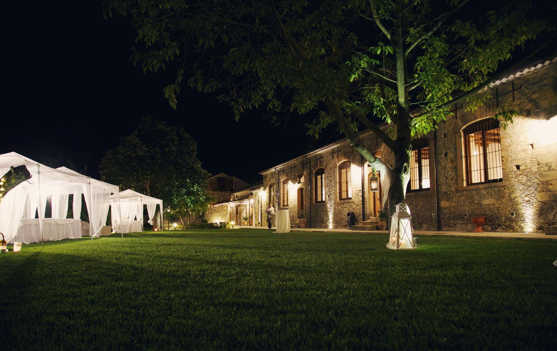 La Filanda dei Quintieri - L'antica filanda di sera