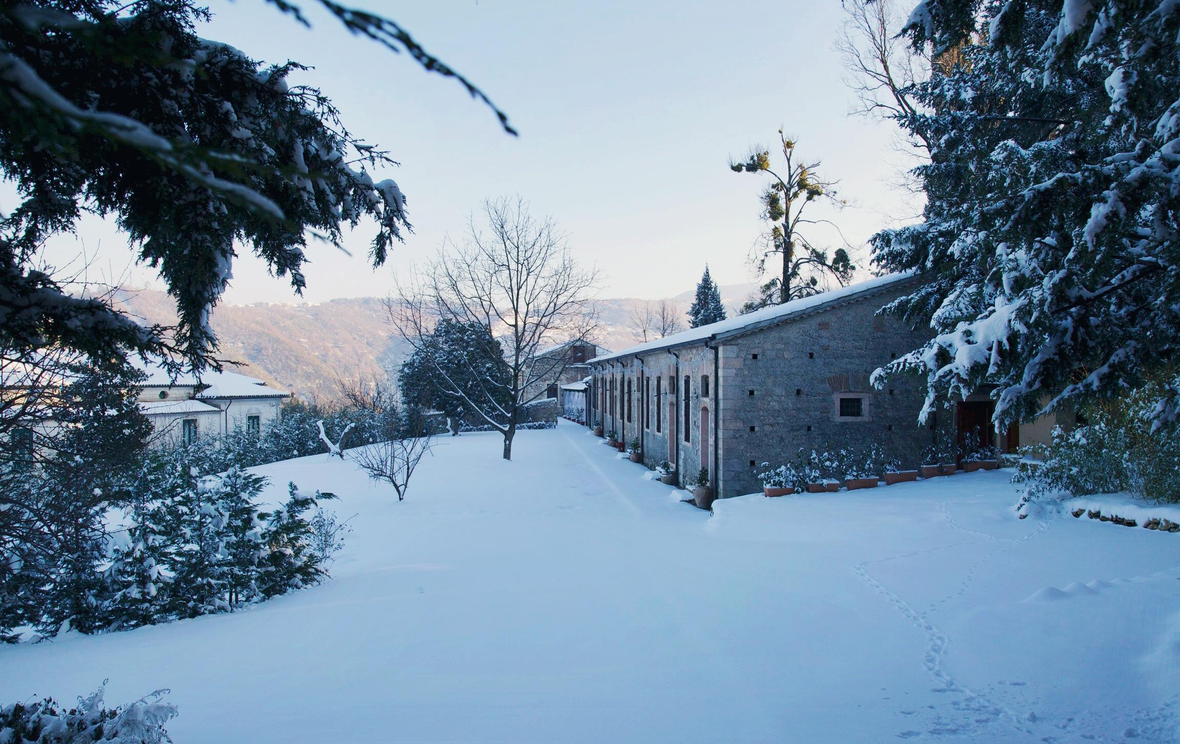 La Filanda dei Quintieri - L'inverno sull'antica filanda