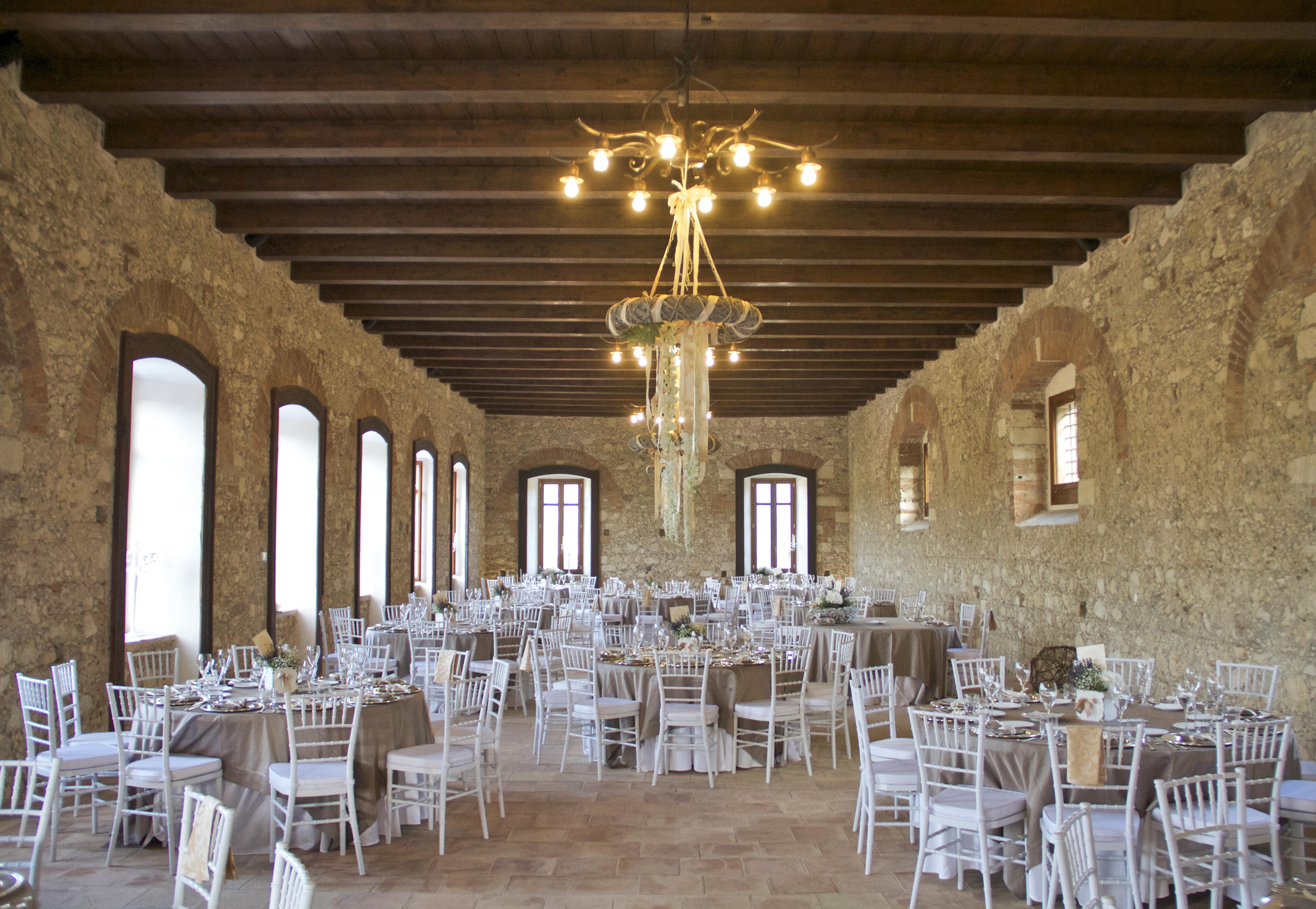 La Filanda dei Quintieri - La Sala Grande dall'ingresso